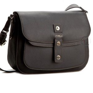 NWT FURLA Crossbody Handbag - Emma - Onyx